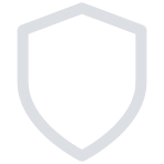 Icon of a protective shield