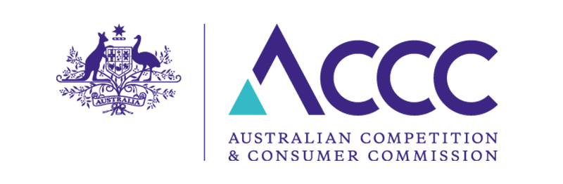 Australian competition & Consumer Commission logo