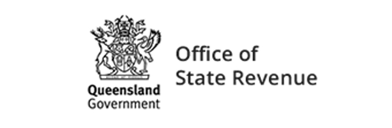 Qld Government Office of State Revenue logo