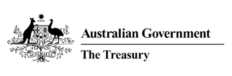 Australian Government Treasury logo