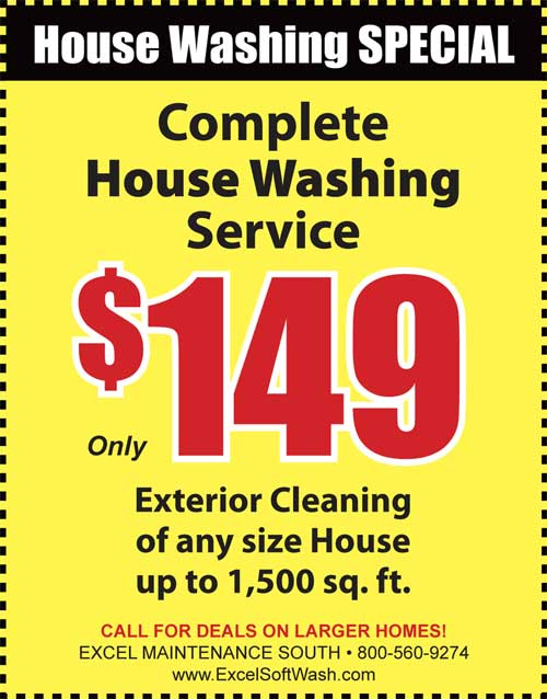 House Washing discount for residents in Punta Gorda FL