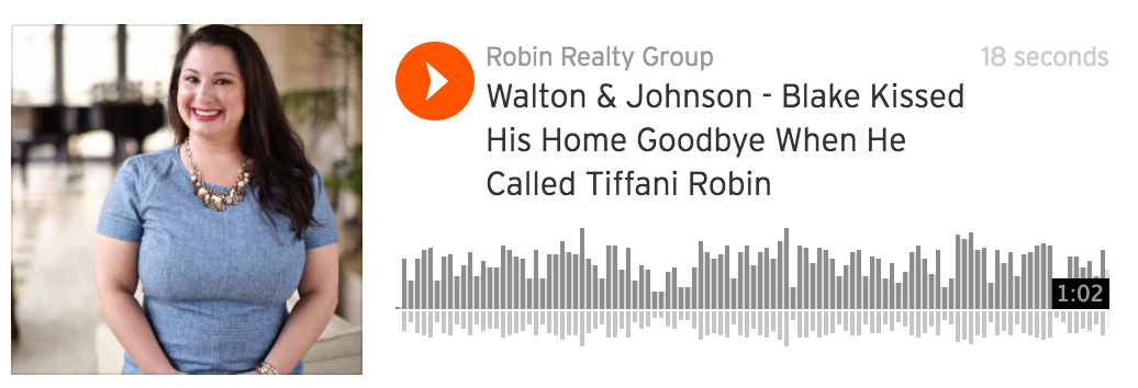 Walton & Johnson – Blake Kissed His Home Goodbye When He Called Tiffani Robin