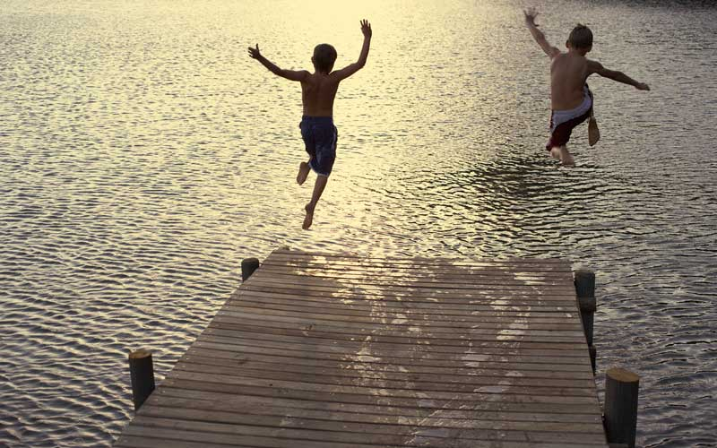 Client Spotlight: Jump Right in, the Water's AMAZING!