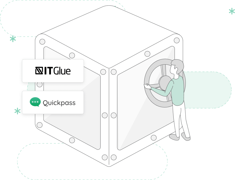 Quickpass IT Glue Vault