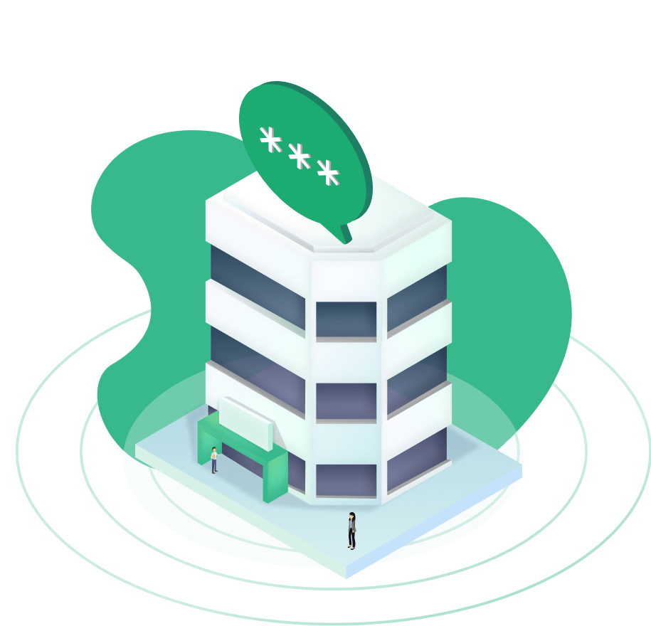 Quickpass enterprise illustration