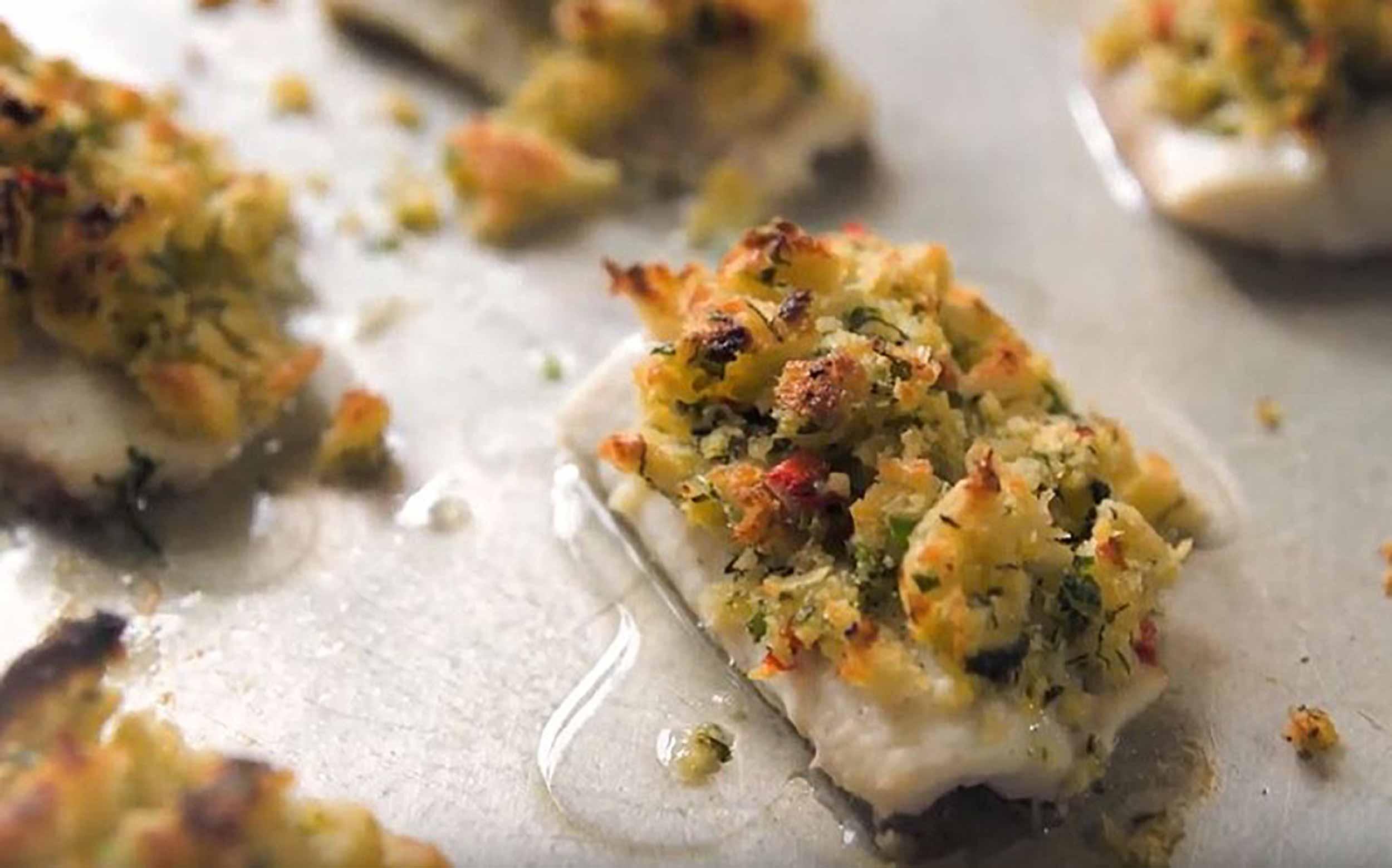 Al Brown's fresh baked fish recipe