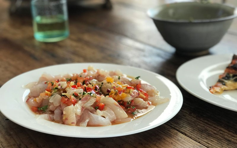 Mouth-watering Ceviche