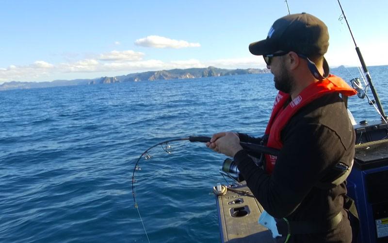 Yamaha School of Fish - Fishing the Coromandel with Whitiangler