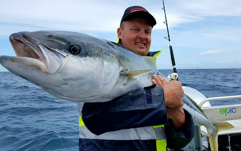 Guide to catching kingfish in the Coromandel