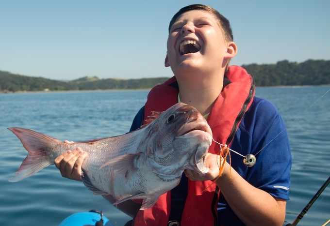 Fishing with Kabura Jigs