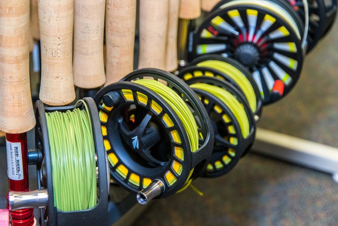 Rod and reels