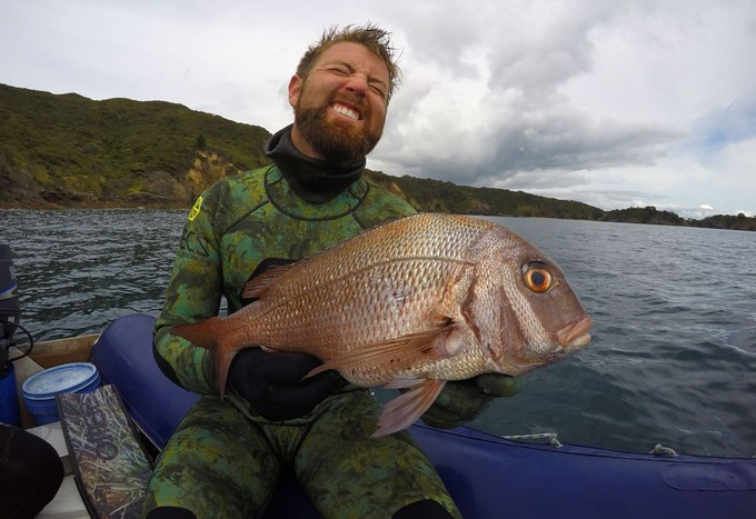 A perfect winter snapper