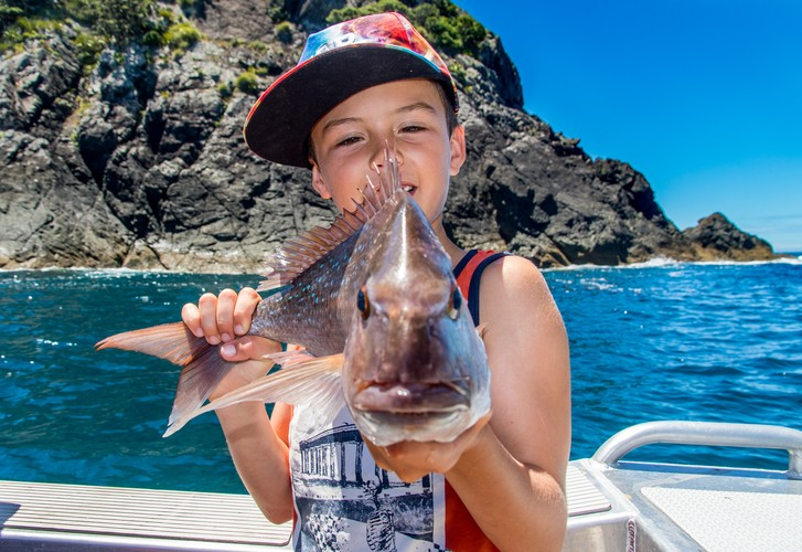 Time well spent - Tips to get the kids fishing