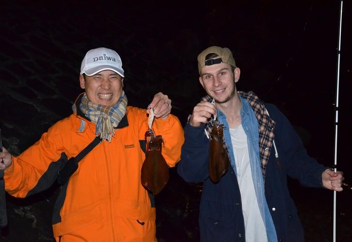 Calamari conversations; a first timer's success