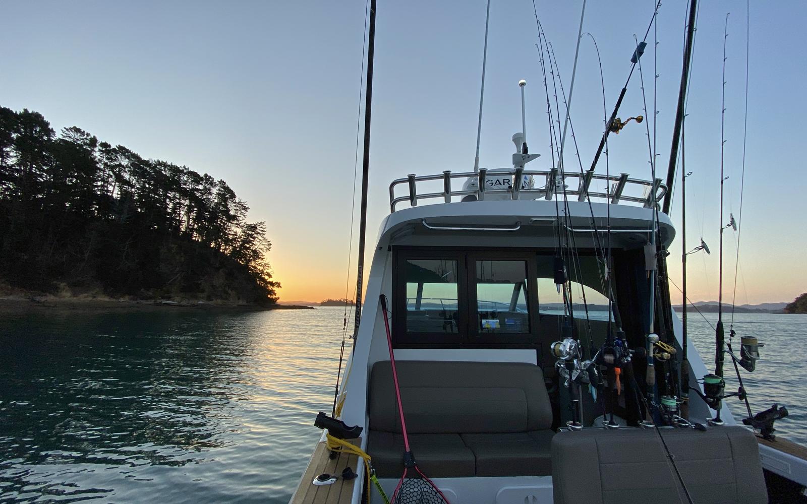 Hauraki Gulf Spring Fishing Spots