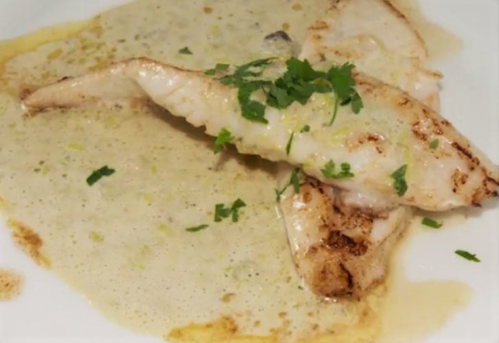 John dory with leek and oyster sauce recipe