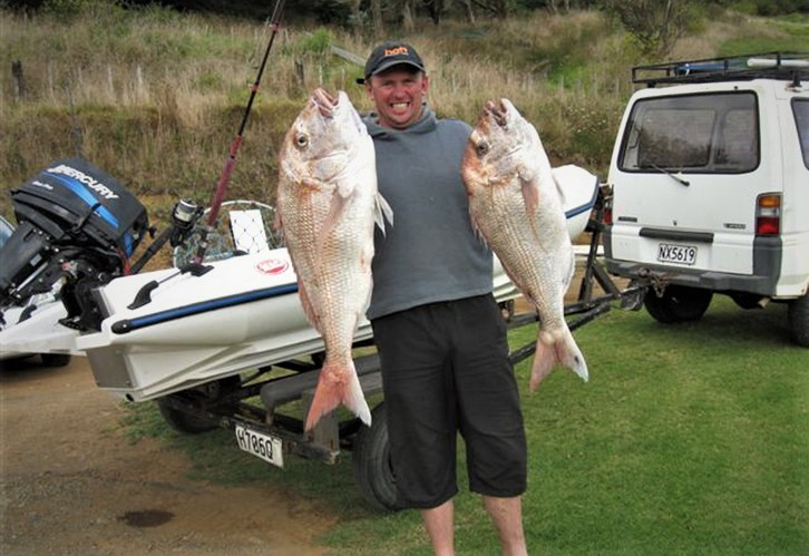 Monsters from the wild west - Whanganui fishing