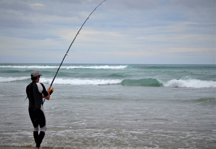 Approaching the perfect cast - Surfcasting