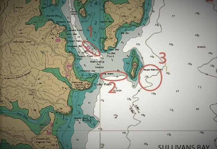 Auckland Kayak Spots - Sullivans Bay