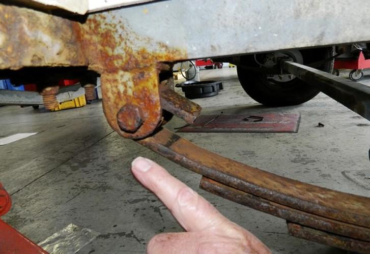 Rust Never Sleeps - Trailer maintenance
