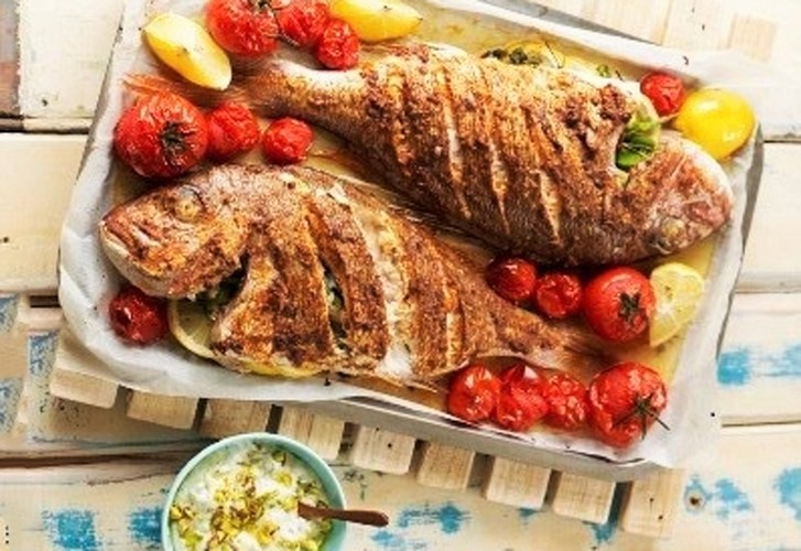Roasted Whole Snapper with Egyptian Spices