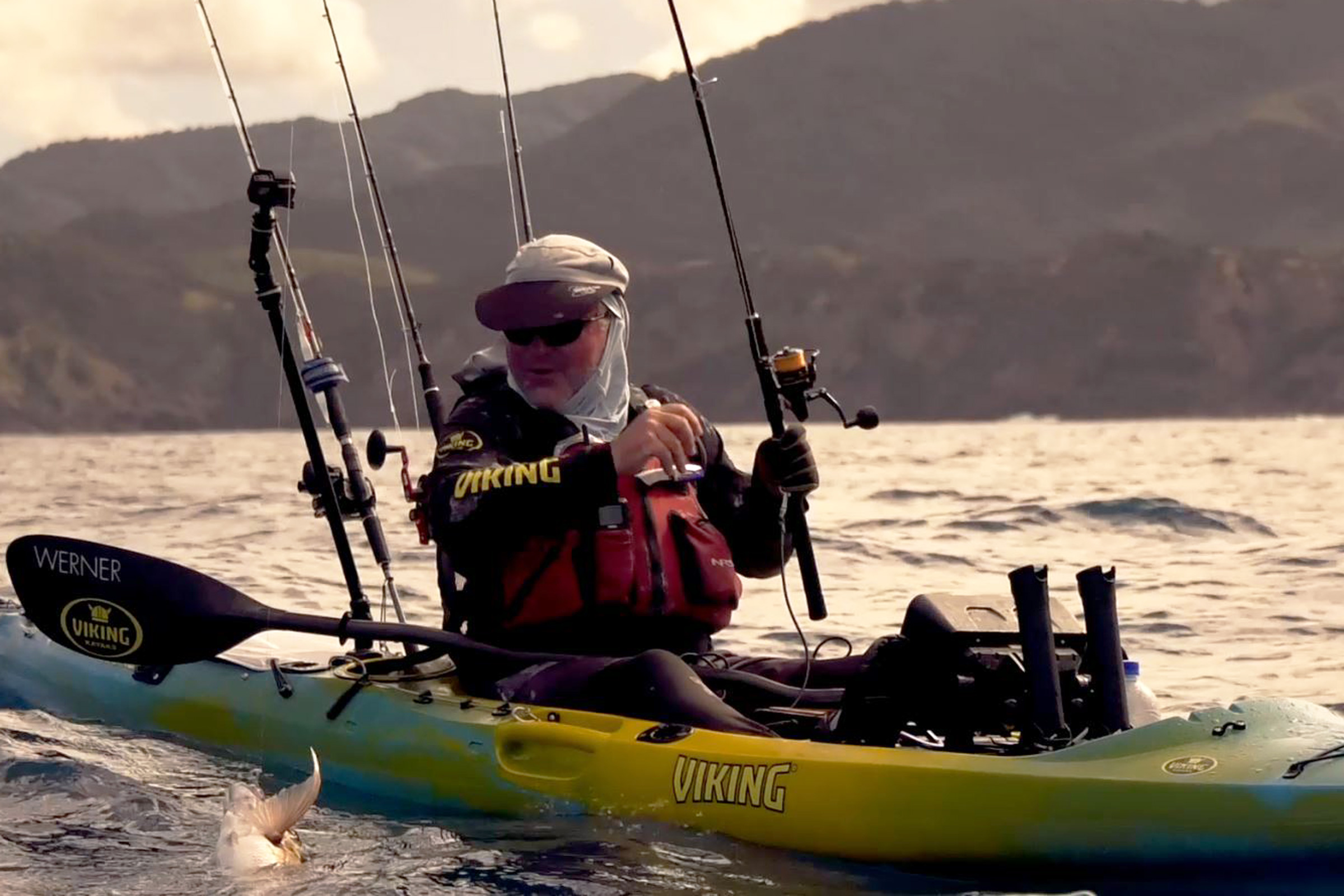 How to fish soft baits from a kayak