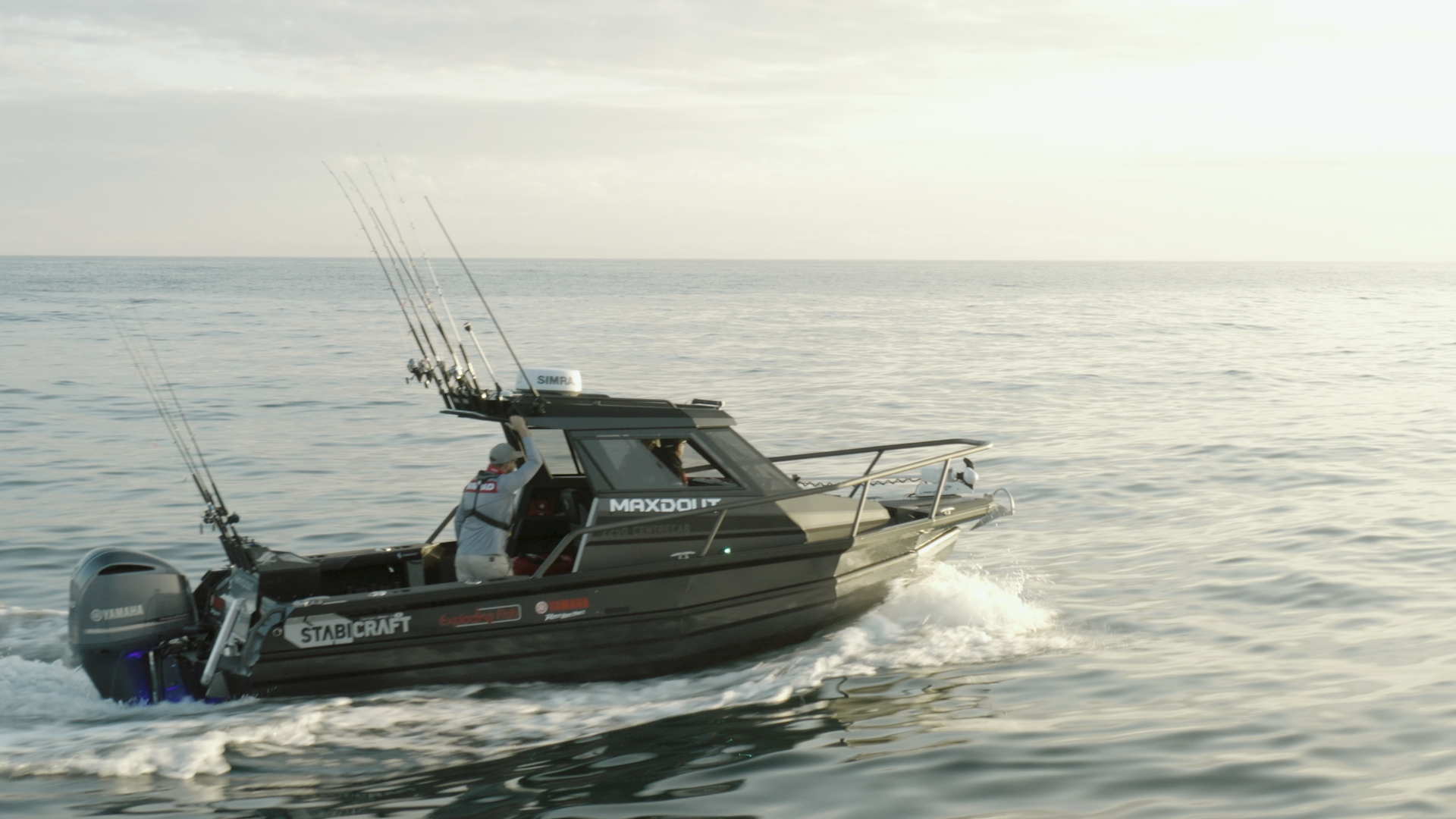 Stabicraft and the all new SIMRAD command