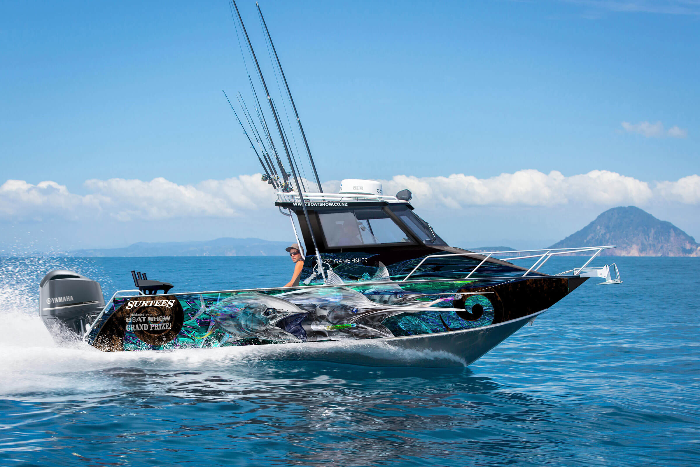 Surtees/Yamaha Grand Prize a great lure for 2021 Hutchwilco NZ Boat Show!