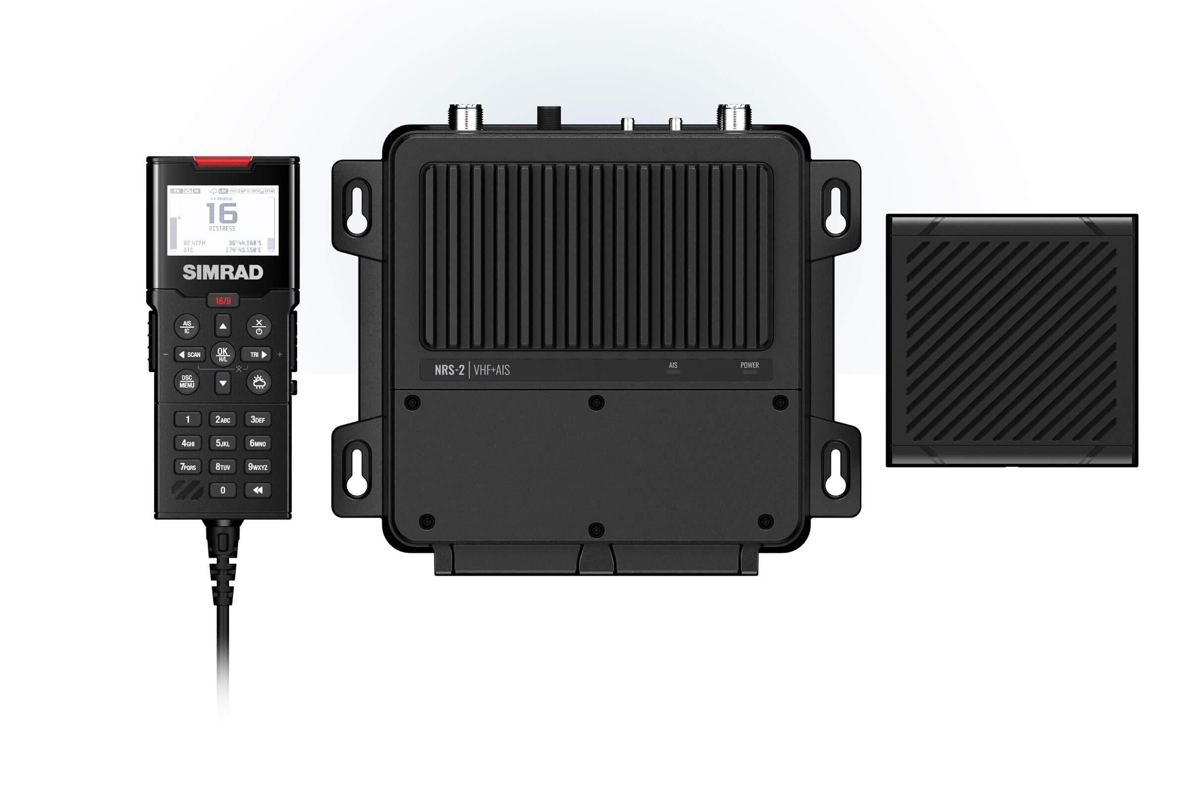 INTRODUCING THE LATEST SIMRAD® VHF RADIO  & CLASS-B AIS SYSTEMS