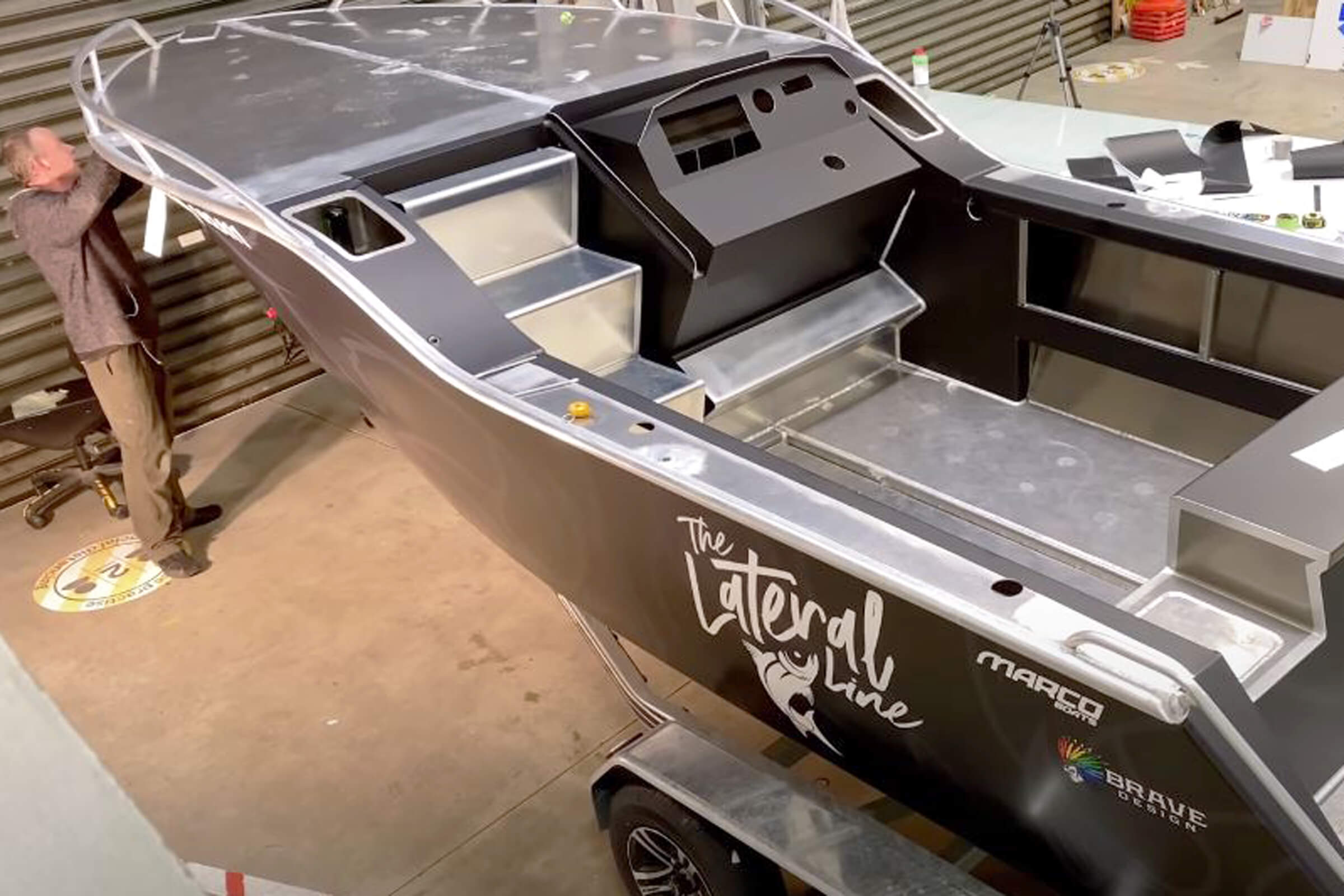 The Lateral Line custom boat build #3