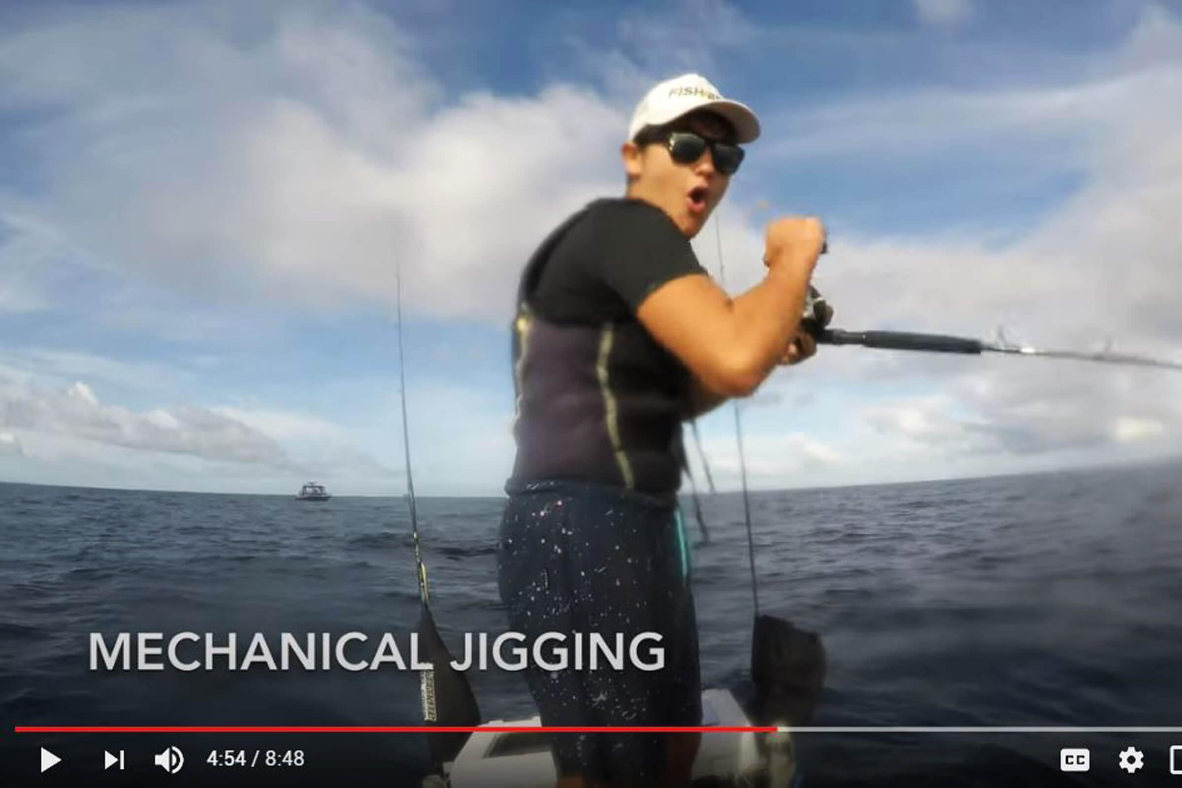 How to mechanical jig for kingfish