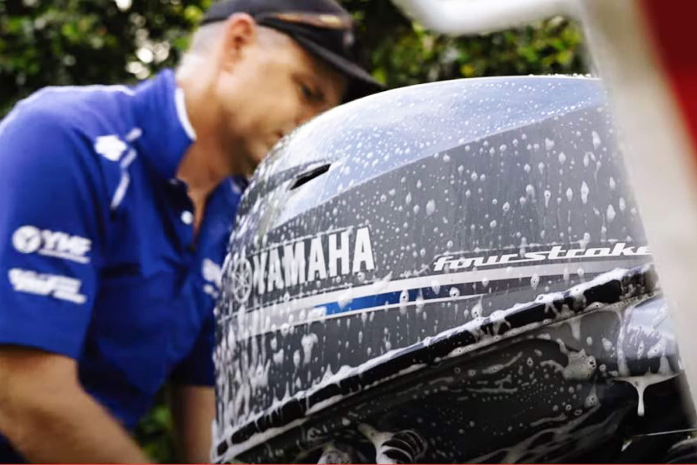 How to correctly flush and clean your Yamaha outboard