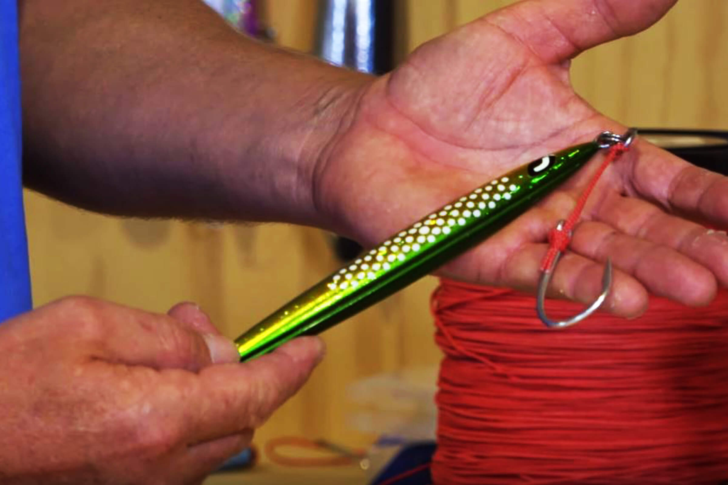 Make your own jig assist hook rigs
