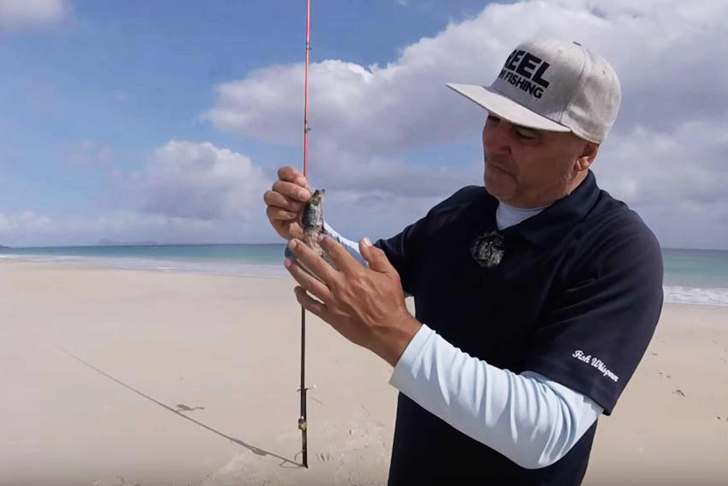 Hints and tips for surf casting off the sand
