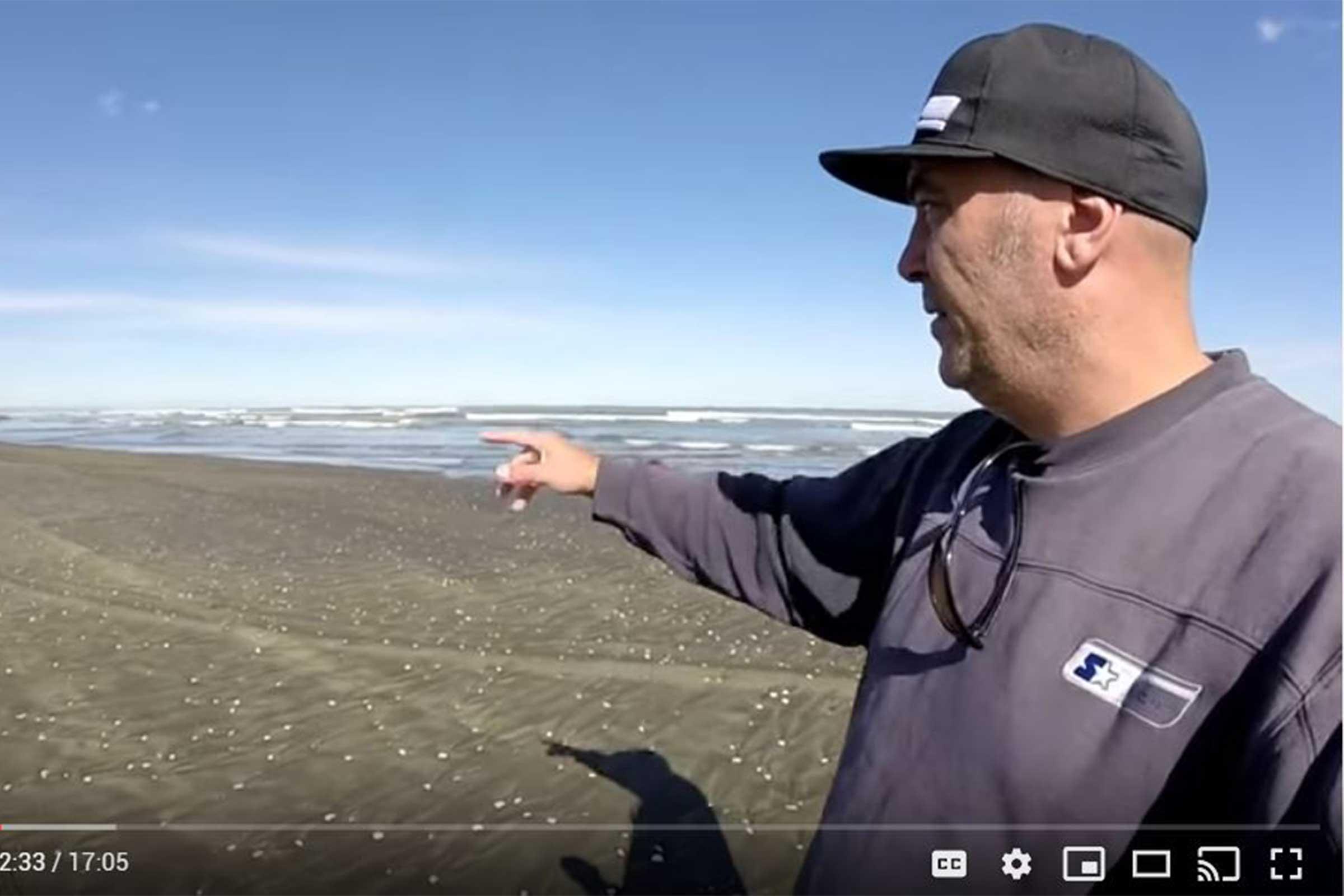 Surfcasting Muriwai Beach - Tips and tricks