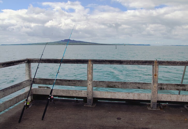 Fishing without a boat - Auckland's top fishing wharfs