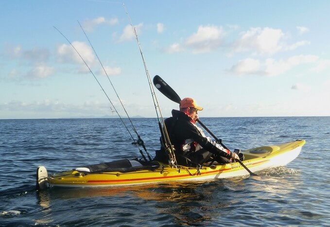 How to fish soft baits from kayaks and small boats