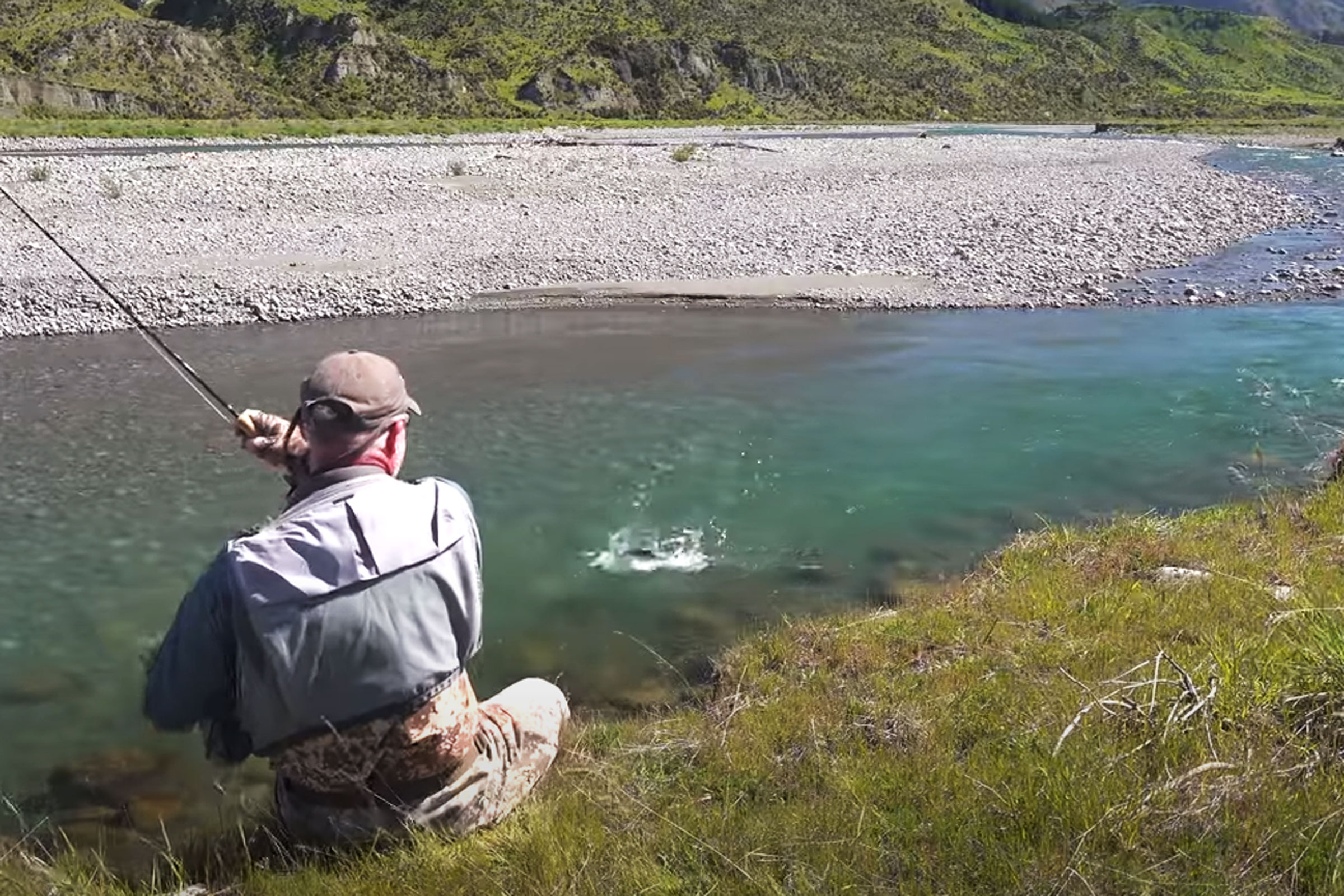 Fly Fishing for Big Browns in South Island New Zealand