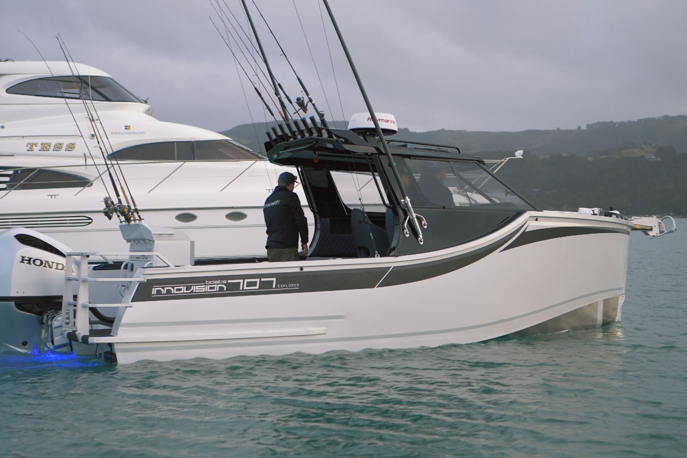 Innovision Boats 2021 Featuring the IV707 Explorer