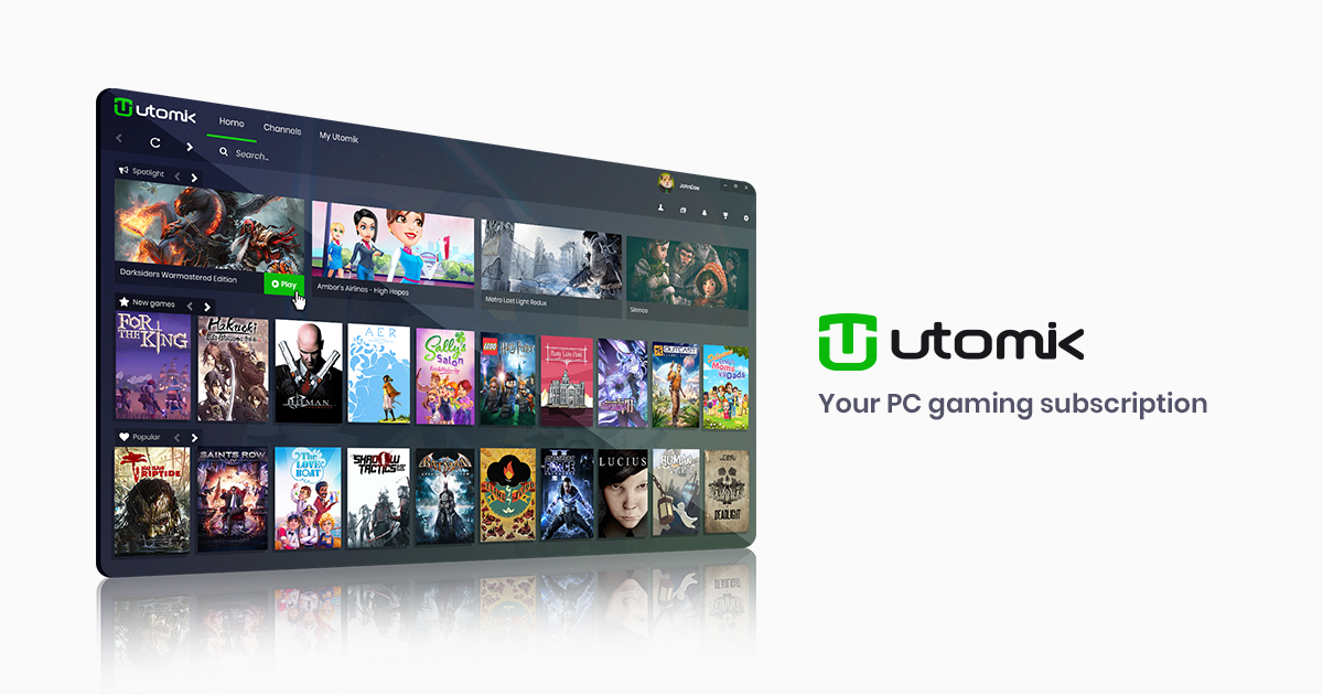 Utomik | Your Unlimited PC Gaming Subscription