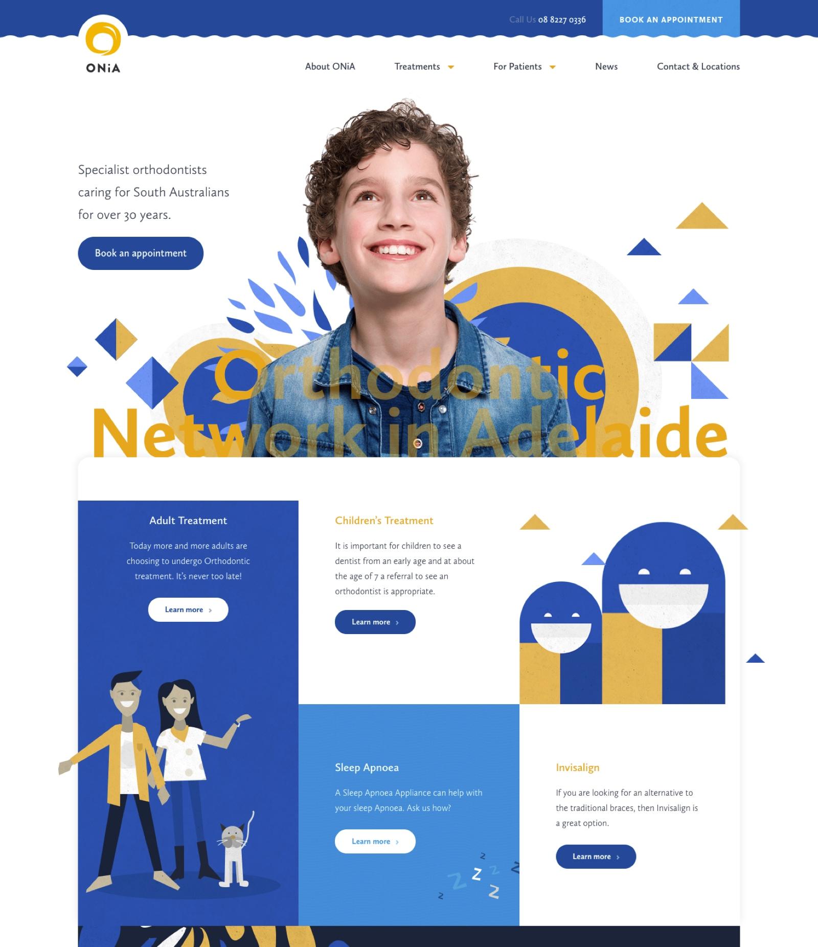 ONiA Website