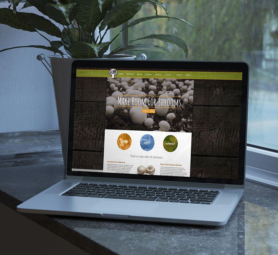 JM Farms Website Example