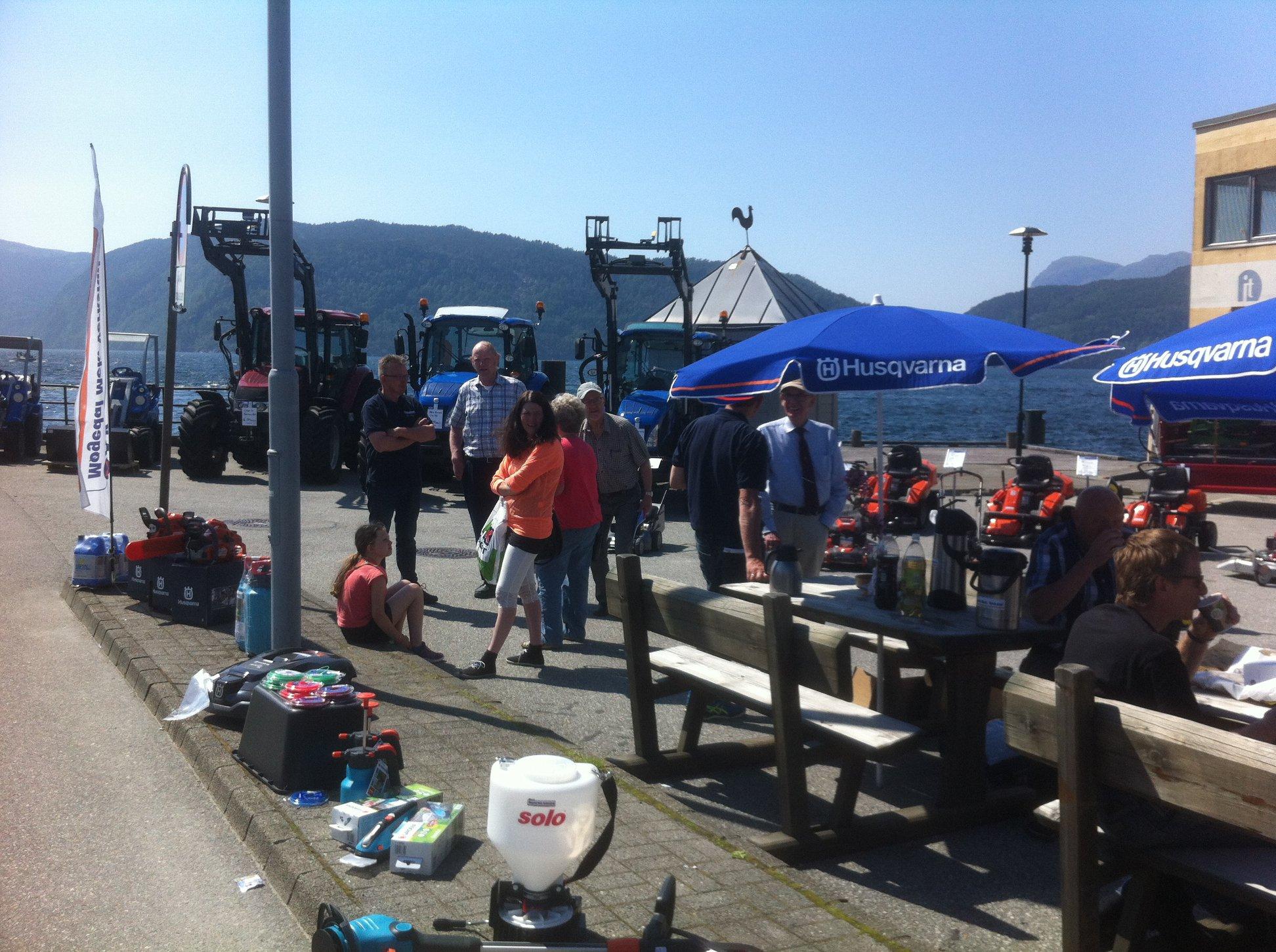 Møgedal Mek. Verkstad er klar for å flytte butikken ned i gata på Sand under Ryfylkedagane.
