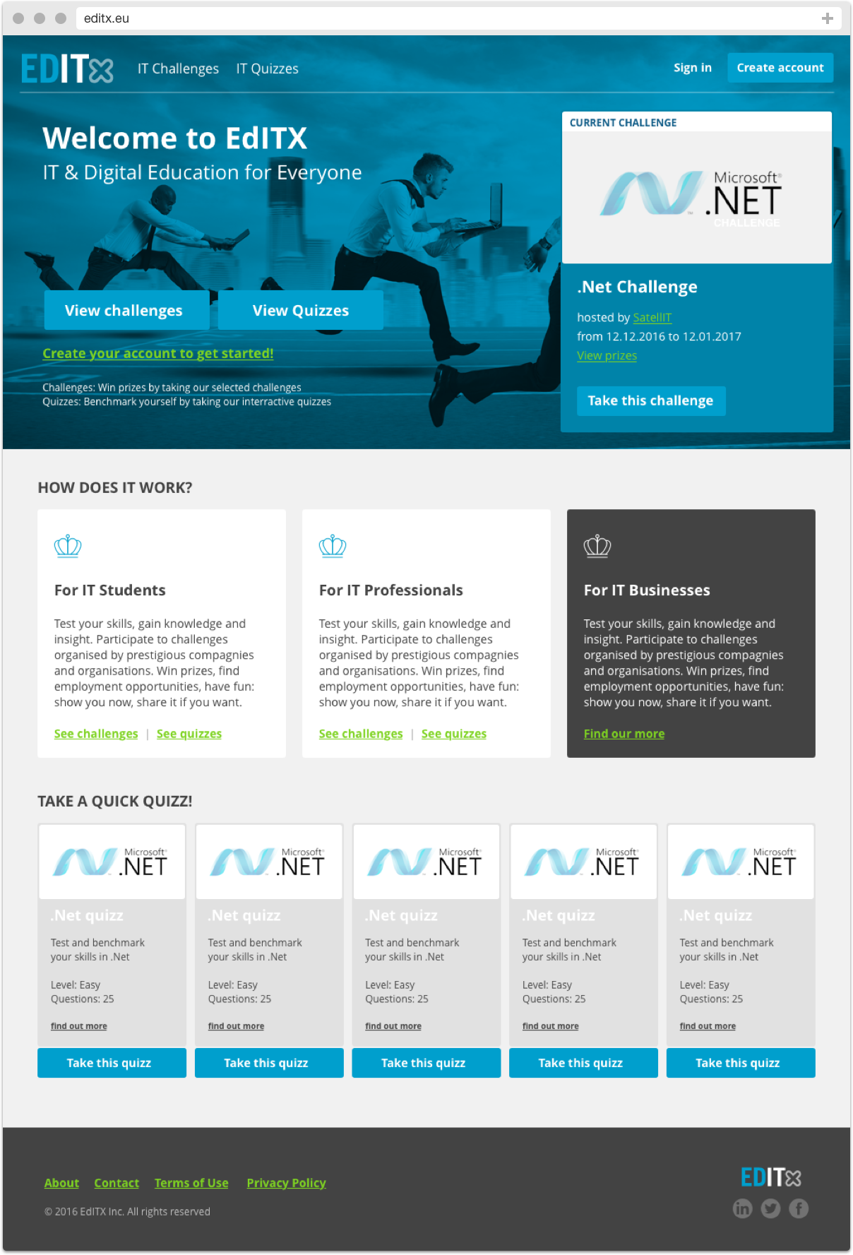 EditX Homepage