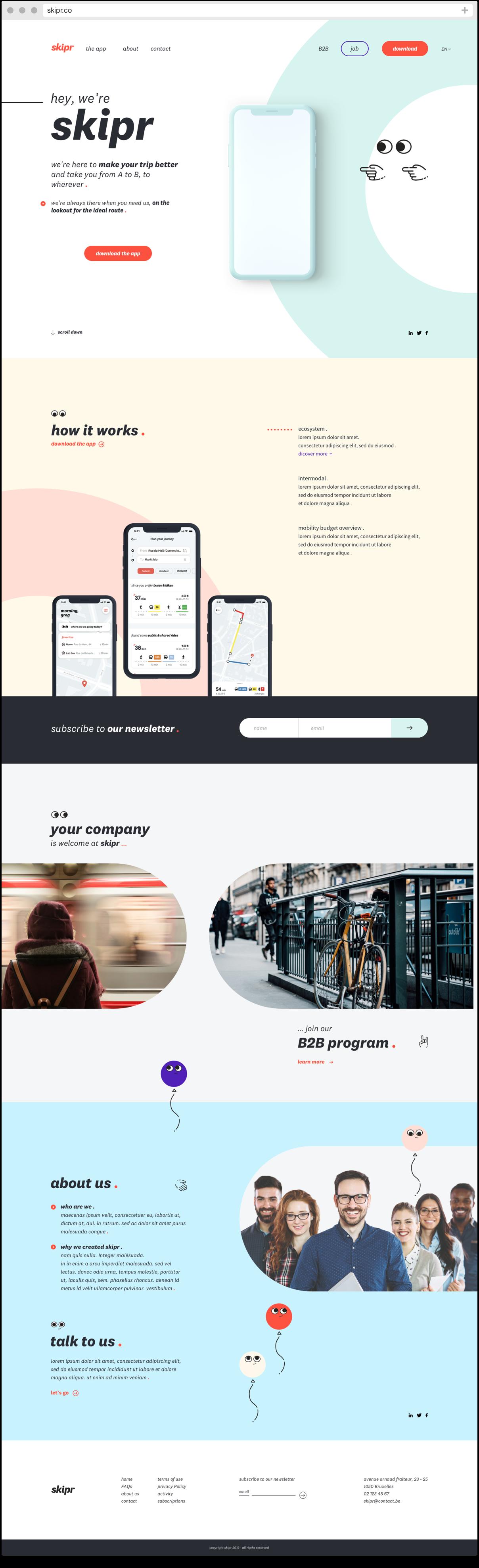 Pikaway Homepage