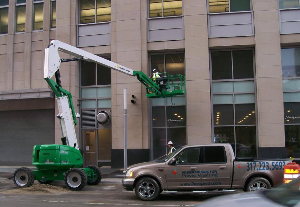 Commercial Pressure Washing for businesses in Indianapolis