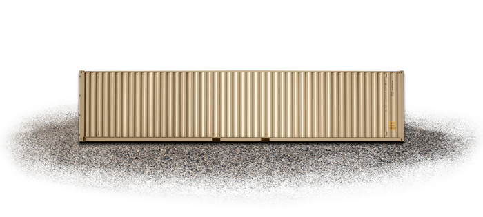 New One Trip Shipping Container