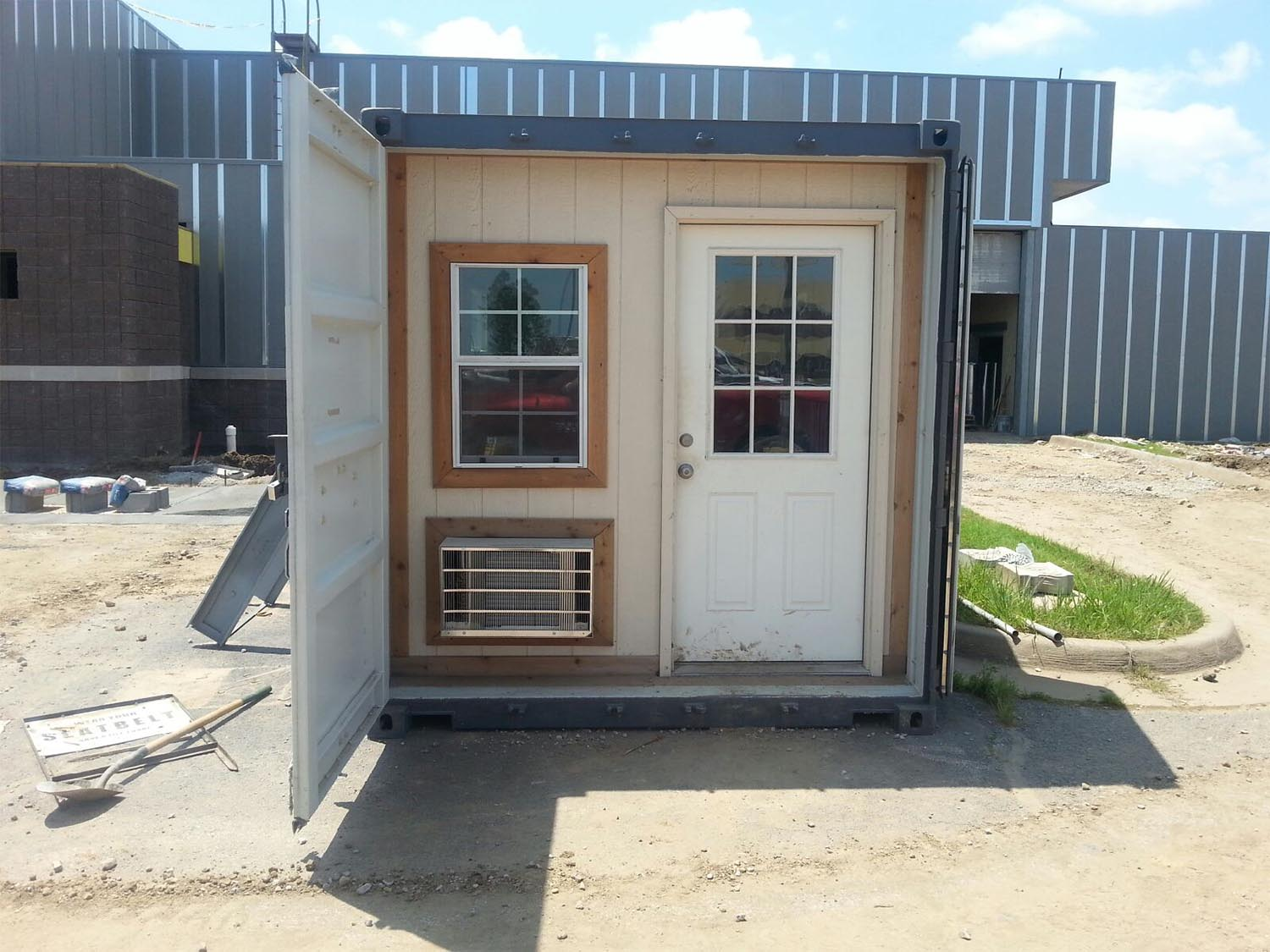custom shipping container office