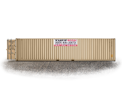 45-foot high cube storage container