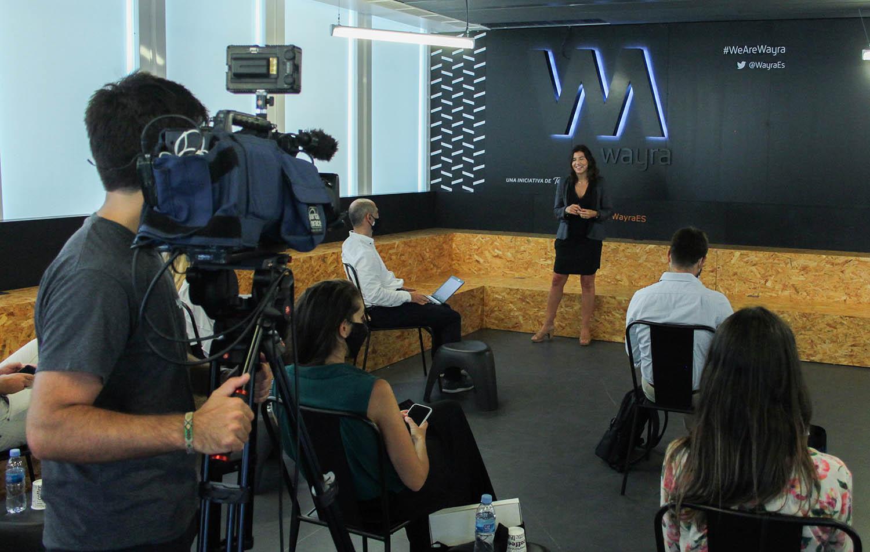 marta antúnez wayra investord day